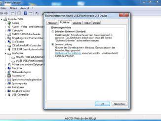 Gerätemanager-Laufwerke-Richtlinien
