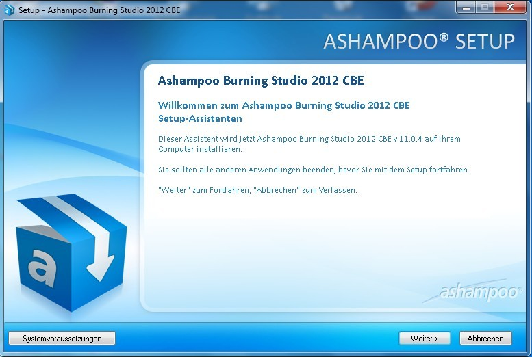 Ashampoo burning studio 12 v12 0 1te