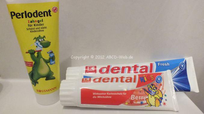 Wir zeigen der Welt unsere Zahnpasta