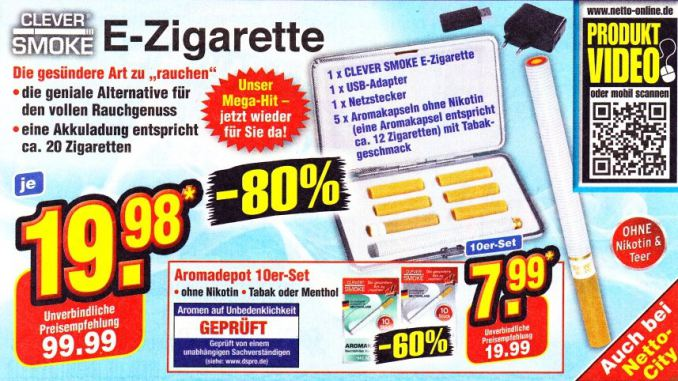 Clever Smoke Angebot bei Netto
