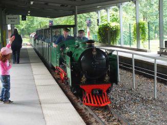 Parkeisenbahn Dresden Dampflok 2012