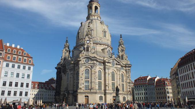 Frauenkirche Dresden Breit