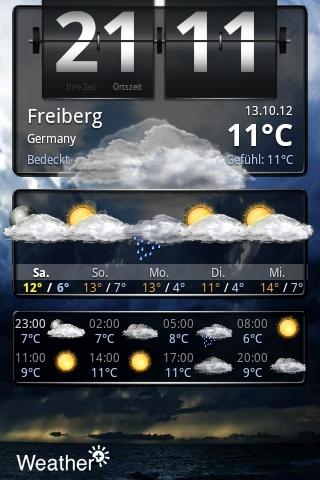 Kostenlose Wetter App