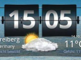 Wetter Plus Screen Widget