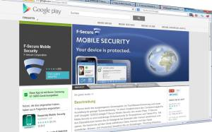 Google Play Store  F-Secure Mobile Security