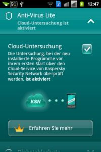 Kaspersky Mobile Security light - Antivirus