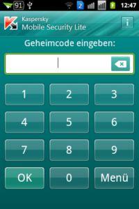 Kaspersky Mobile Security light - Code