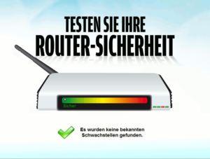 Routersicherheit keine Schwachstellen gefunden
