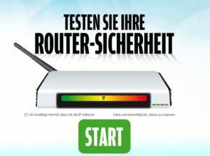 Testen sie ihre Routersicherheit