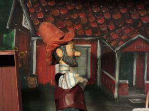 Rheinländisches Figurentheater - Petterson im Theaterzelt