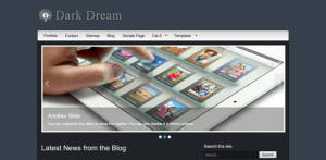 Free Premium WordPress Theme Dark Dream