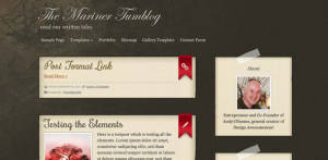 Free Premium WordPress Theme Mariners Tumblog