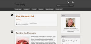 Free Premium WordPress Theme The Blog