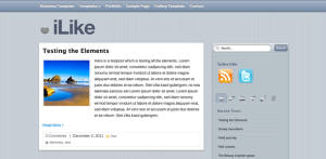 Free WordPress Theme iLike
