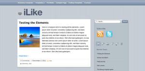 Free WordPress Theme iLike