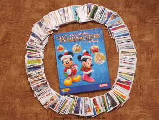 Rewe Sticker Walt Disney Weihnachtsbilder 2012