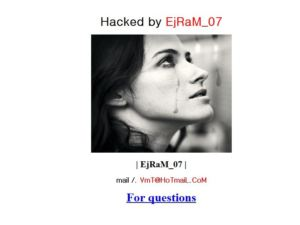 Hacked by EjRaM_07