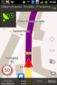 BE-ON-ROAD 2D Navigation