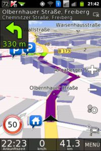 BE-ON-ROAD 3D Navigation