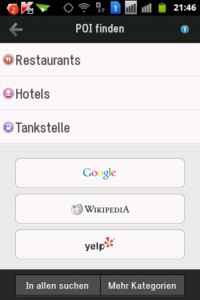 Copilot Live Premium Menu Suche