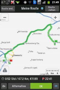 Copilot Live Premium Navigation Route