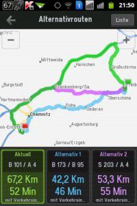 Copilot Live Premium Navigation Route Alternative