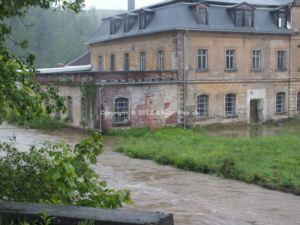 Hochwasser Muldenhutten Überflutung