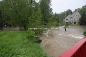 Hochwasser Oberbobritzsch 1