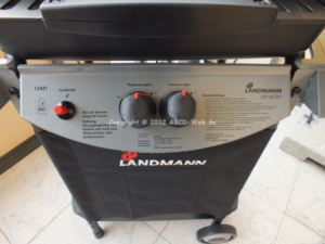 Landmann 12441 Atracto Lavastein-Gasgrill Bediehnung