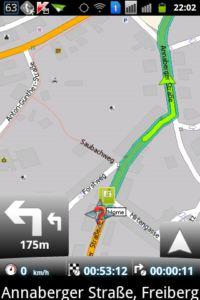 MapFactor Navigator 2D Navigation