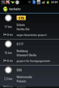 V-Navi Verkehrsinfo
