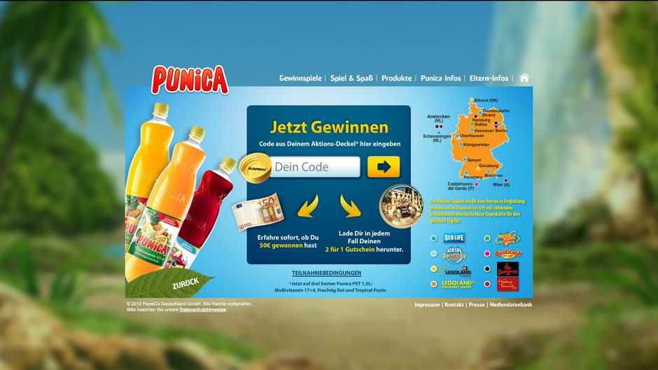 Punica Gewinnspiel