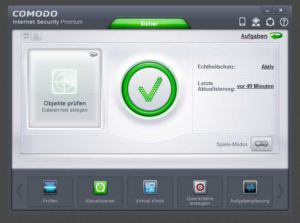 Comodo IS Desktop 1