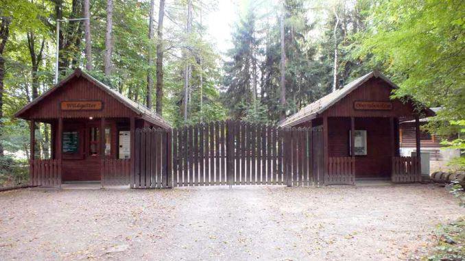 Wildgatter Oberrabenstein - Eingang