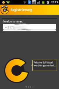 Chiffry Secure Messenger - Screenshot 4