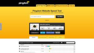 Pingdom Website Speed Test abcd-web-de