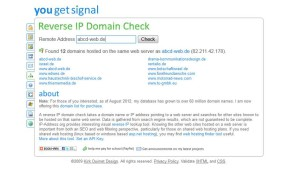 Reverse IP Domain Check abcd-web-de