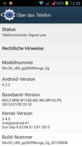 Star S9500 Screenshot - über das Telefon