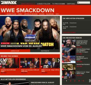 Screenshot 30.8.14 WWE SMACKDOWN Samstag