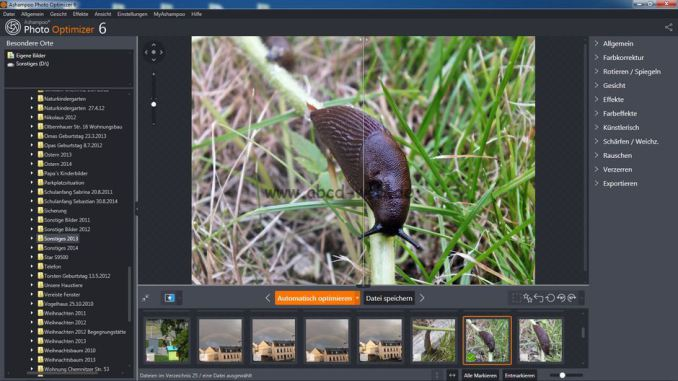 Ashampoo Photo Optimizer 6 Screenshot