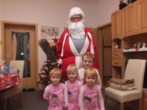 Weihnachtsmann Drillinge Alexander Weihnachten