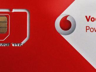 Vodafone normale micro SIM-Karte Beitragsbild