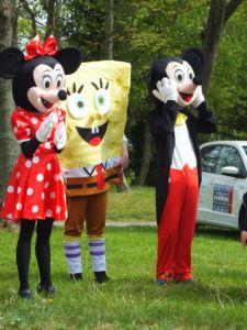 Minnie Mickey Mouse Spongebob - Frühchentreffen im Klinikum Chemnitz 2015