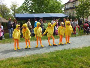 Tanzgruppe - Frühchentreffen im Klinikum Chemnitz 2015