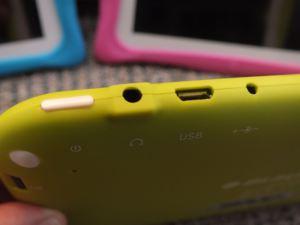 Blaupunkt 4 Kids Android Tablet - Anschluesse