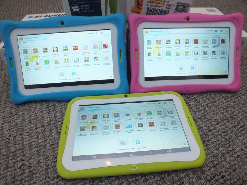 Test: Tablet für Kinder – Blaupunkt 4 Kids Android Tablet