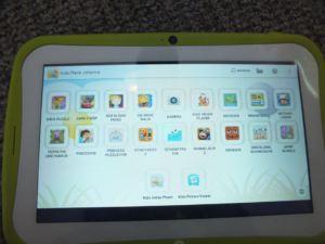 Blaupunkt 4 Kids Android Tablet - ohne Schutzhülle