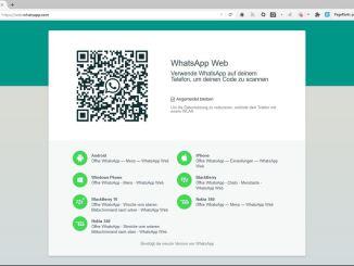 Whatsapp Web installieren
