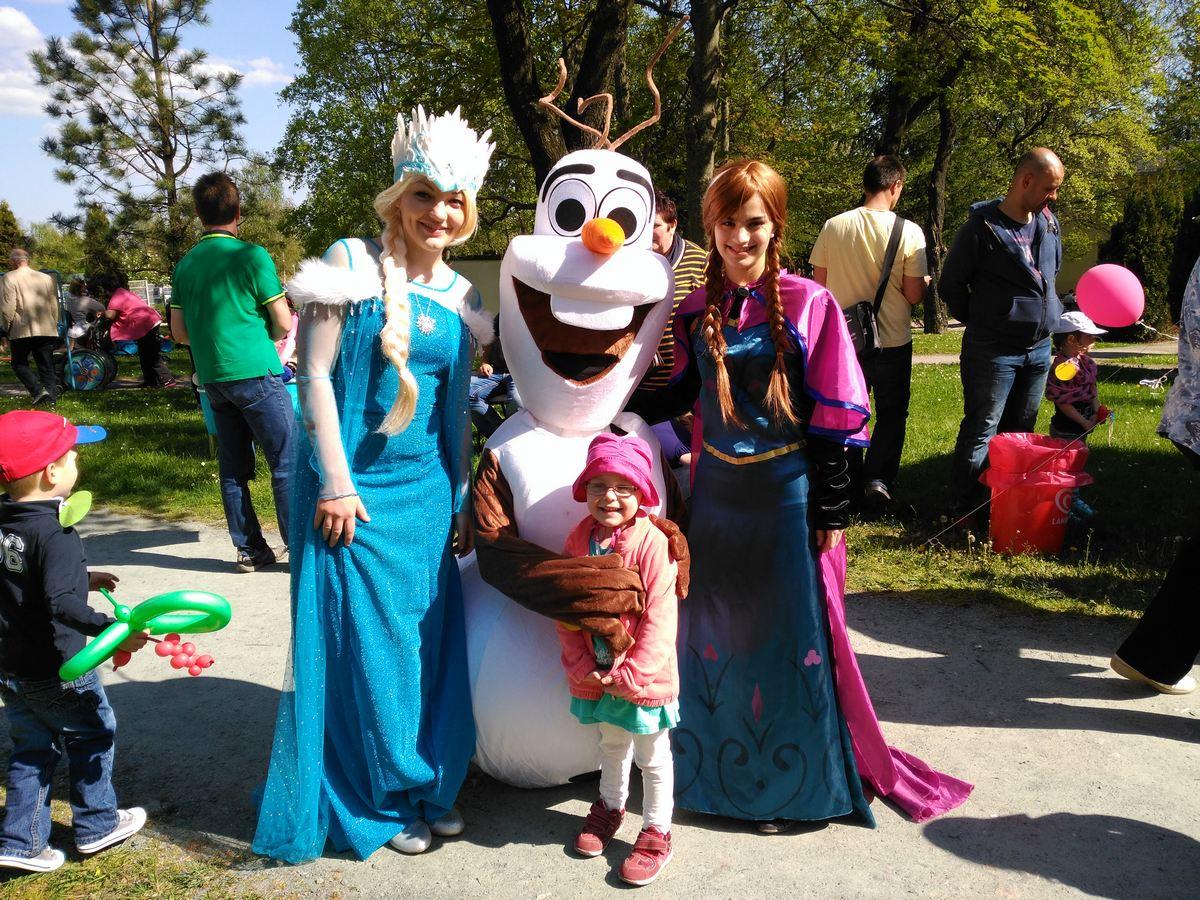 Eisgönigin – Elsa Olaf, Anna