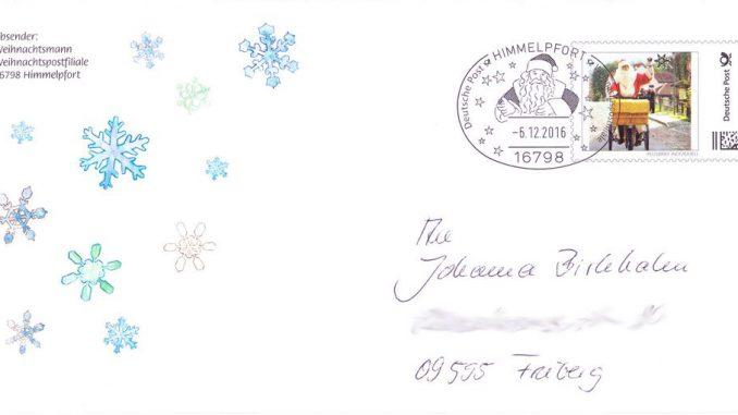 Brief Vom Weihnachtsmann Kostenlos